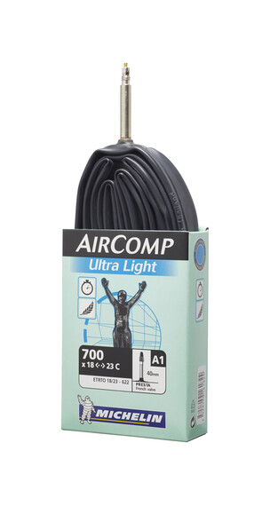 Michelin Aircomp 27/28 inch, A1, presta ventiel 60 mm